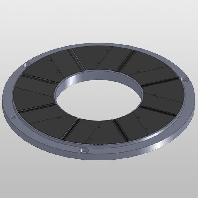 155m hybrid foil<br> bearing, 2000N