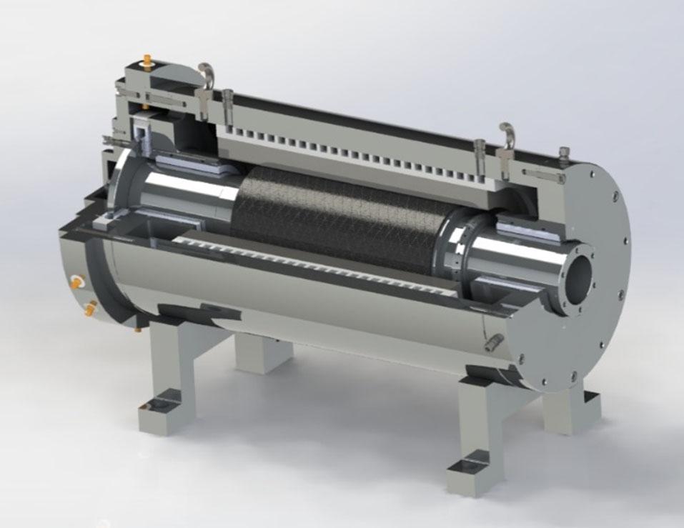 2000kW, 4 pole  permanent magnet,<br>18krpm, hybrid foil bearings