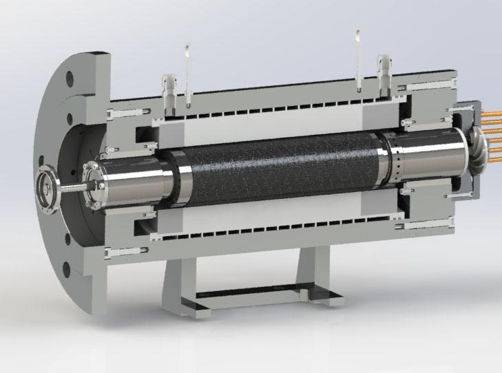 160kW/51,000rpm<br>Foil Bearings (60mm)